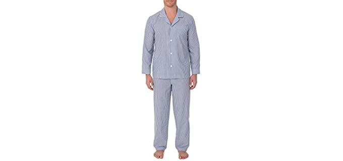 Geoffrey Beene Men's Broadcloth - Cotton Pyjamas for Itchy Skin