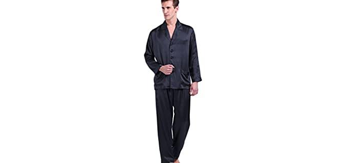 Lilysilk Men's Long - Itchy Skin Silk Pyjamas
