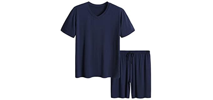 Latuza Men's Short - Pajamas for Night Sweats