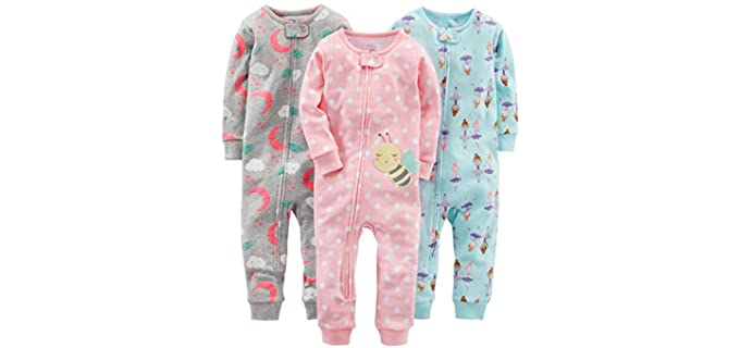 Carter's Girl's Simple Joys - Snug Fit Pyjamas for Baby