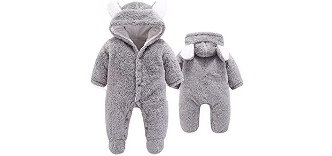 VNVNE Unisex Character - Newborn Baby Pyjamas