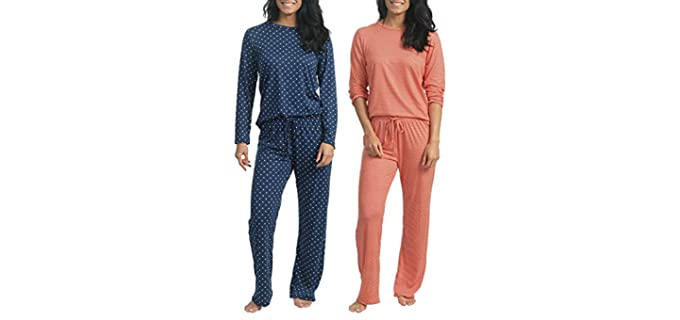 Real Essentials Women's Two Pack - Pajamas Set