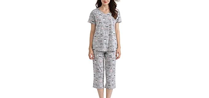 Enjoynight Women's Capri - Set of Pajamas