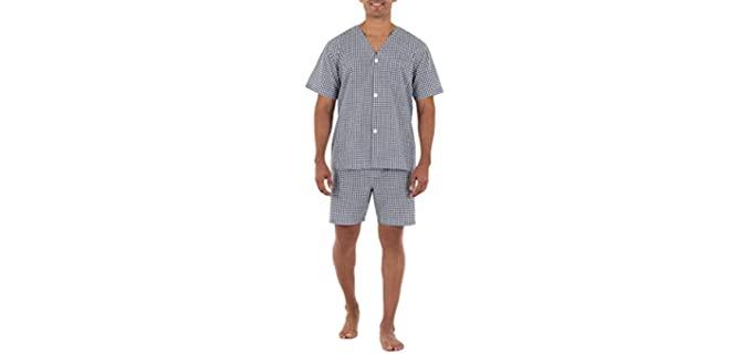 Fruit of the Loom Men's Broadcloth - Summer Pajamas