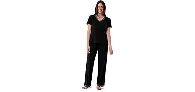Fruit of the Loom Women's Short Sleeve - Post Partum Pajamas